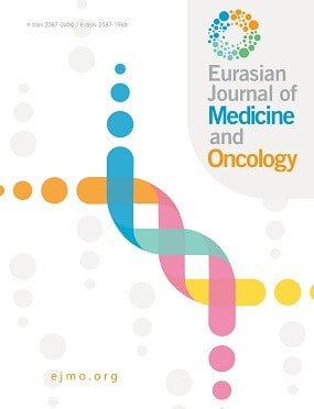 EURASIAN JOURNAL OF MEDICINE AND ONCOLOGY